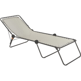 Lafuma Mobilier Siesta L Lounger with Cannage Phifertex seigle